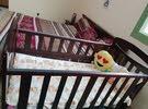 سرير اطفال خشب ممتاز