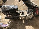 موطو فيسبا محرك بس شغال 125 سي سي