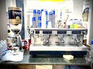 ماكينة قهوة رانشيلو طليانية كلاس 7 فل توماتك + رحاية بن