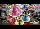طواجين مغربية من النحاس لتقديم الحلويات والشوكولاتةمختلفة
