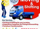 Professional / House Shifting / Carpenter / Transportation / Available