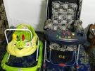 عربانة طفل وحجلة مستعملة للبيع