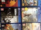 PS4 6 games for sale