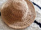 summer handmade hat