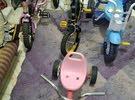 عدد أربع عجلات للأطفال أعمار مختلفة فقط15 دينار