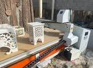 مكينة الحفر على الخشب -نجارة machine Wood cutting - wood engraving machine