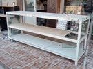 طاولات عرض رفوف