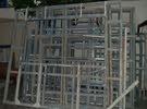 حديد جدران ستيل ستراكشر للبيع أطوال مختلفه ارتفاع 270 سم وتساب 0589393754