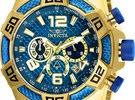 Men's Pro Diver Scuba 50mm Gold Tone Stainless Steel Chronograph Quartz Watch, Gold