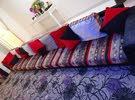 جلسة أرضية مستعملة 15 متر مع السجادة السعر 30 دينار