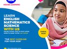 I TEACH ENGLISH, SCIENCE AND MATHEMATICS