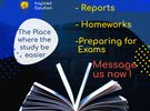 دروس خصوصية والمساعدة في كتابة التقارير والبحوث ومشاريع التخرج