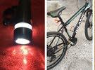 للبيع دراجة هوائية تباديل حجم 27 وياه اضواء استعمال شهرين