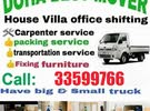 Doha movers packers Carpenter transportation available !!