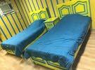 السرير الواحد 25 مع الكمدينه