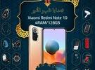 شاومي نوت10 الذاكرة 128G شاشة اموليد الرام 4G مع بكج هدية وتغليف حراري مجاناً xiaomi