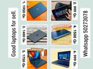 6 Pieces laptops available for sell. 1. Hp metal elitebook core i5 laptop with