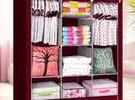 خزانة الملابس القماش (حجم كبير جامبو)