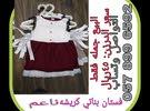 فستان بناتي كريشه ناعم البيع بالجمله