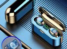 Bluetooth Headsets Wireless Earbuds with Charging Box BT 5.0 TWS