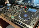 Pioneer CDJ2000 pair with DJM800 DJ Mixer