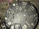 dynamo + steering pump