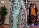 فستان + بشت  توصيل مجاني