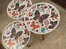 coffee tables 3 pcs. different height