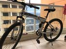 land rover sports bicycle grey (folding type)