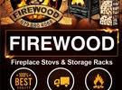 حطب مواقد مستورد ومتنوع firewood... ومستلزماتها من مواقد وارفف fireplace stoves
