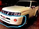 nissan patrol vtc y61 front bumper personal not shop