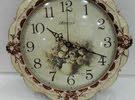 ساعة حائطية زجاجية