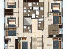شقة للبيع في ابو علندا مساحة 120 متر بالاقساط