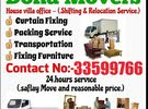 Professional Shifting moving Carpenter Transportation Company