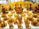 طقم صينى + طقم بيركس عسلى + طقم أركوبال + طقم خشاف + شنطة معالق كل ده ب 3000 جنيه وبس