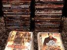 150 DVD'S  MIX CDS