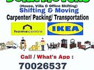 Doha movers Packers carpenter work