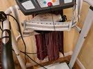 سير كهربائي مع حزام هزاز للبيع استعمل خفيف