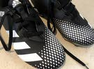 football shoe with studs