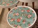 أطقم طاولات ضيافة ( تركية ) 3 قطع جديد
