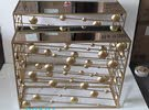 luxury gold table set new arrival