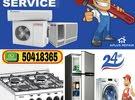 A/c & fridge maintenance