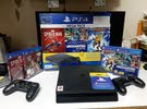Sony PlayStation 4 500GB with 2 controller and PlayStation plus 3 months subscription