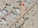 ارض مميزة جدا سوبر كورنر على 3 شوارع وبمساحة847متر في المرتفعات الخامسة العامرات