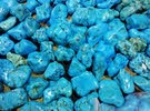 حجر فيروزي خام البيع