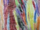 رسمة من الوان خشب الزيتون والبلوط  للبيع للرسام جوجو