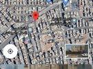 ارض للبيع شارع الجاردنز تجاري معارض 3 شوارع
