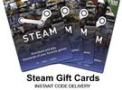 Steam Cards [-5% OFF]