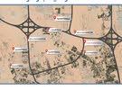 اراضي تجارية ارضي+2 للبيع فى الزاهية ع شارع محمد بن زايد معفية الرسوم 300 م  RT