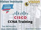 CCNA COURSE TRAINING CLASS AT VISION INSTITUTE CALL -